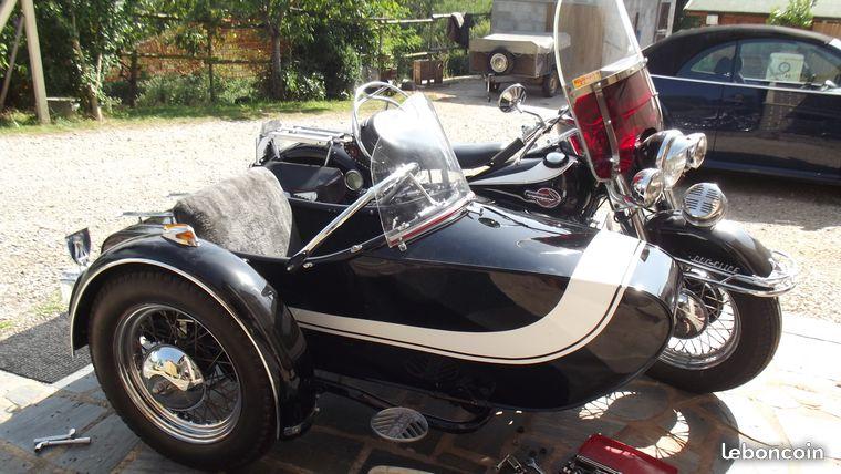 Les SIDE-CAR HARLEY et INDIAN B72e7610