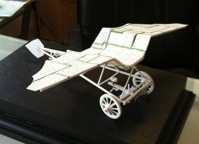 Crazy Green Plane 02910