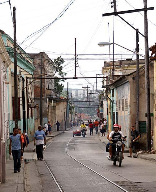 Calles de Santiago de Cuba Lineas10