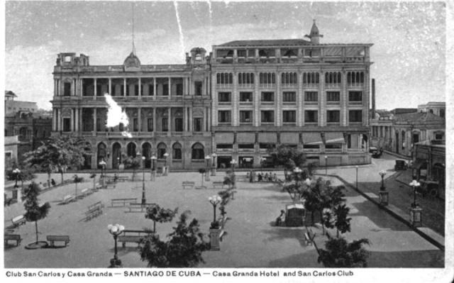 Calles de Santiago de Cuba Parque16