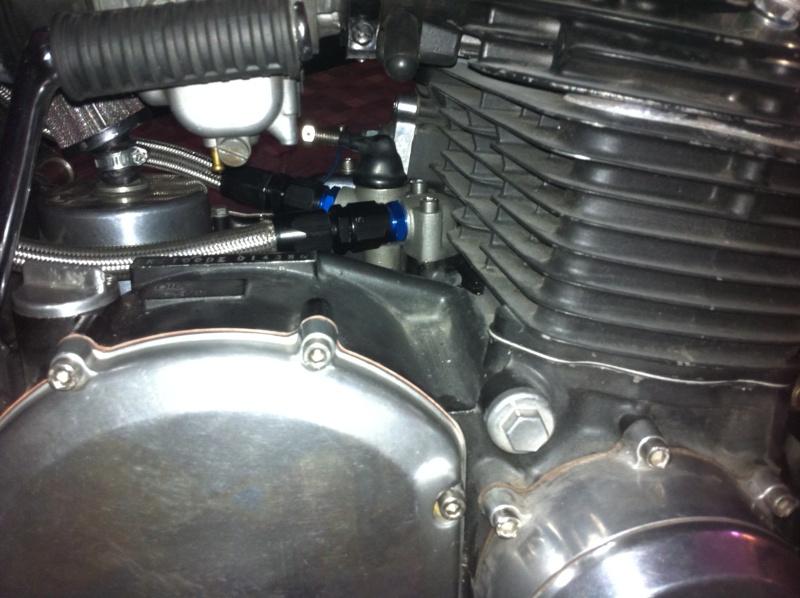 Montage d'un radiateur d'huile Img_1017