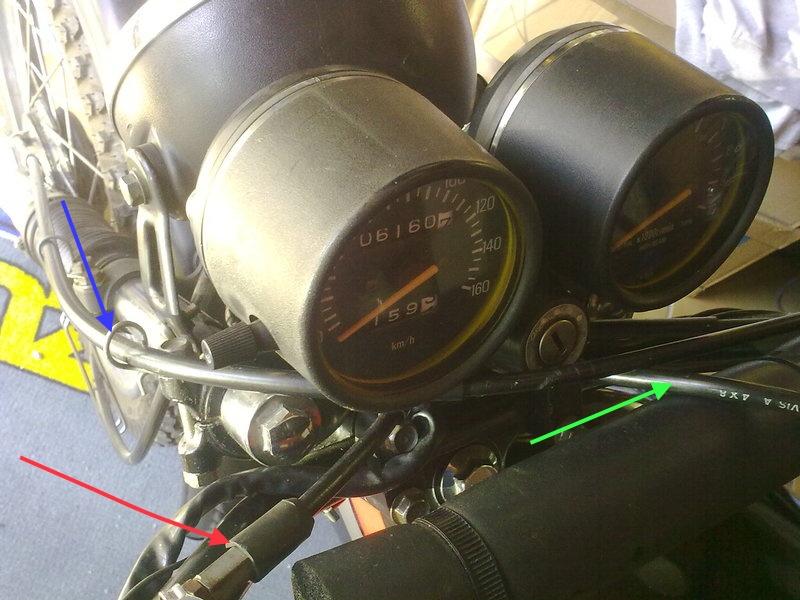 Frottement gaine de frein dans clé 14102010