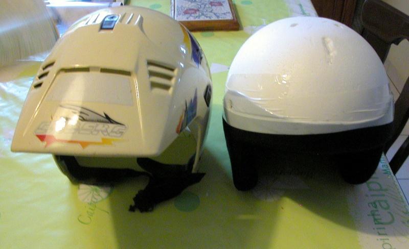 Un autre chantier, la réfection de l'intérieur d'un casque  Dscn0610