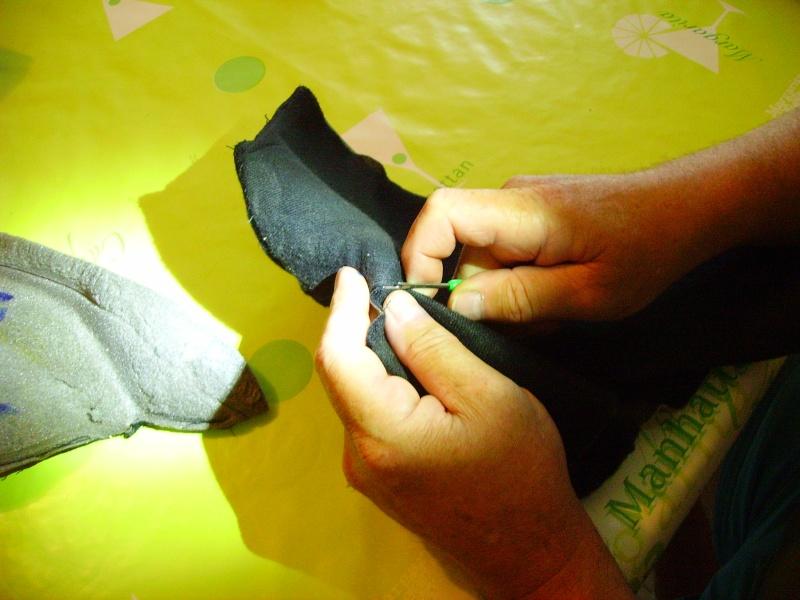 Un autre chantier, la réfection de l'intérieur d'un casque  Pict1710