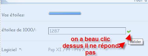 [Résolu] Impossible de fermer les OK (enregistrer) dans mes profils Foruma11