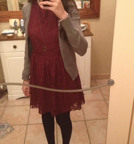 Bluue has cookies in her dressing ! :3 Robe110