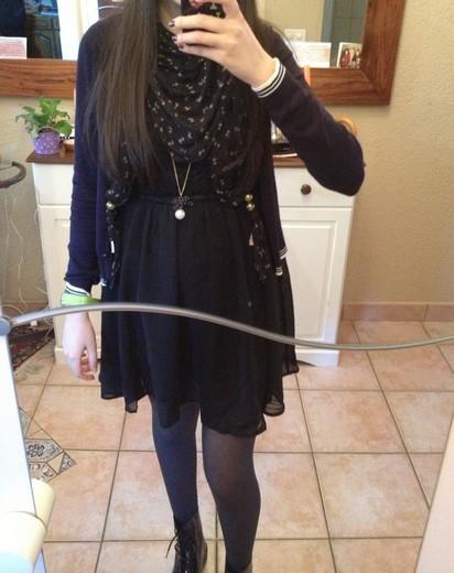 Bluue has cookies in her dressing ! :3 Robe210