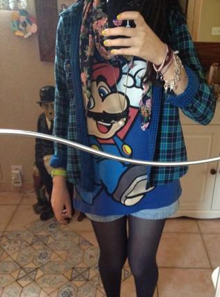 Bluue has cookies in her dressing ! :3 Tenue10