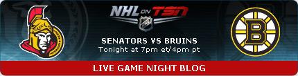 Game Day - Ottawa @ Boston, 7:00PM, Tuesday, November 1, 2011 Nhl_5310