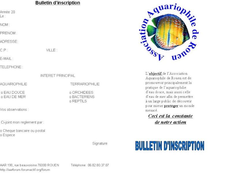 BULLETIN D'ADHESION Adhesi10