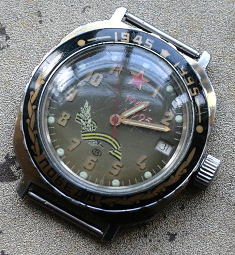 La montre du 8 mai Vostok10