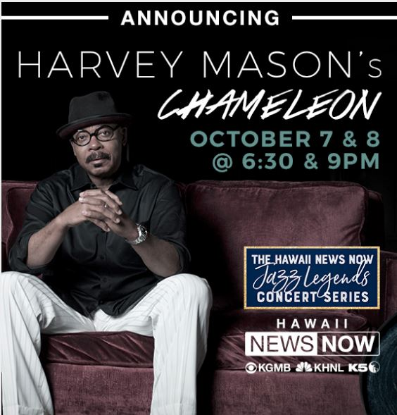 October Blue Note Hawaii? Harvey11