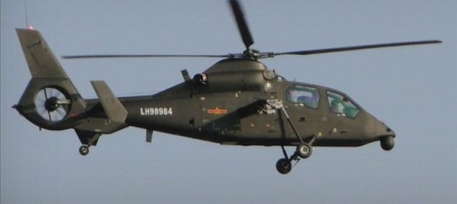 Z-19 light scout/attack helicopter 27_16711