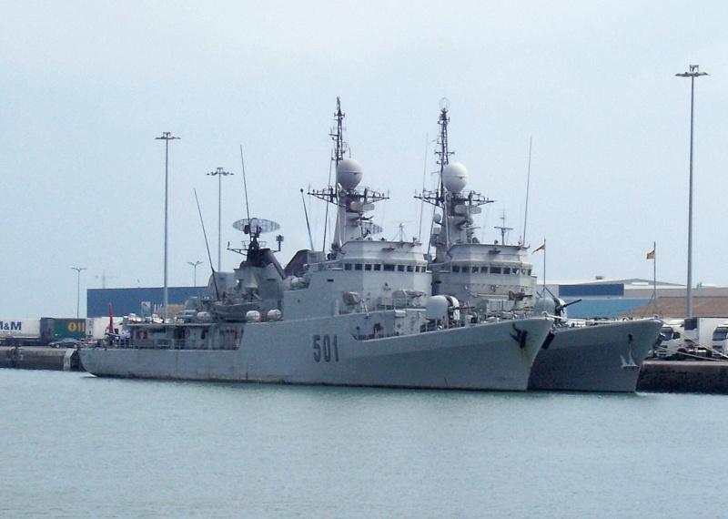 Royal Moroccan Navy Descubierta Frigate / Patrouilleur Océanique Lt Cl Errahmani - Bâtiment École 501_lt10