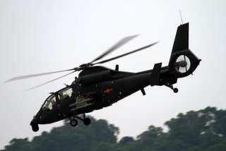 Z-19 light scout/attack helicopter Mg_00510
