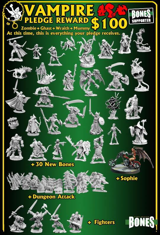 Kickstarter: Reaper Miniatures Vampir10