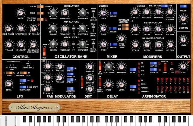 Synthétiseur Moog Moog10