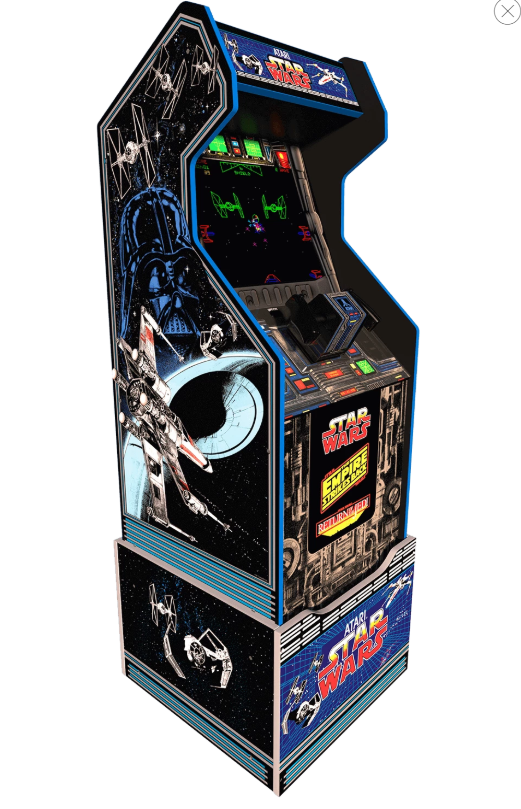 Mini borne Arcade1Up Pac-Man,Galaga,Street Fighter........ 110