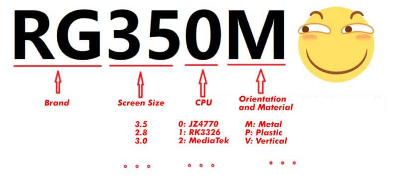 La gamme Ambernic RG-350 16030011