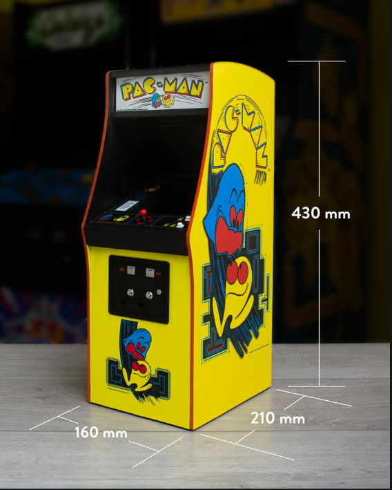 Mini PAC-MAN Arcade Cabinet Official  Captur37