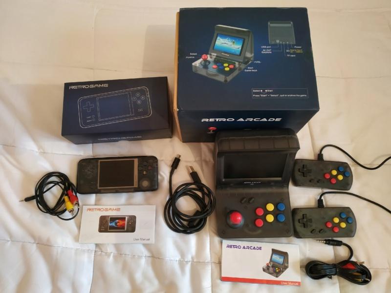 (VDS)Lot: Retrogame RS-97 + Retro Arcade RS-07 Part0016