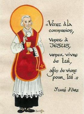 Voici comment doit être un vrai prêtre de Notre Seigneur Jésus-Christ Cure_d15