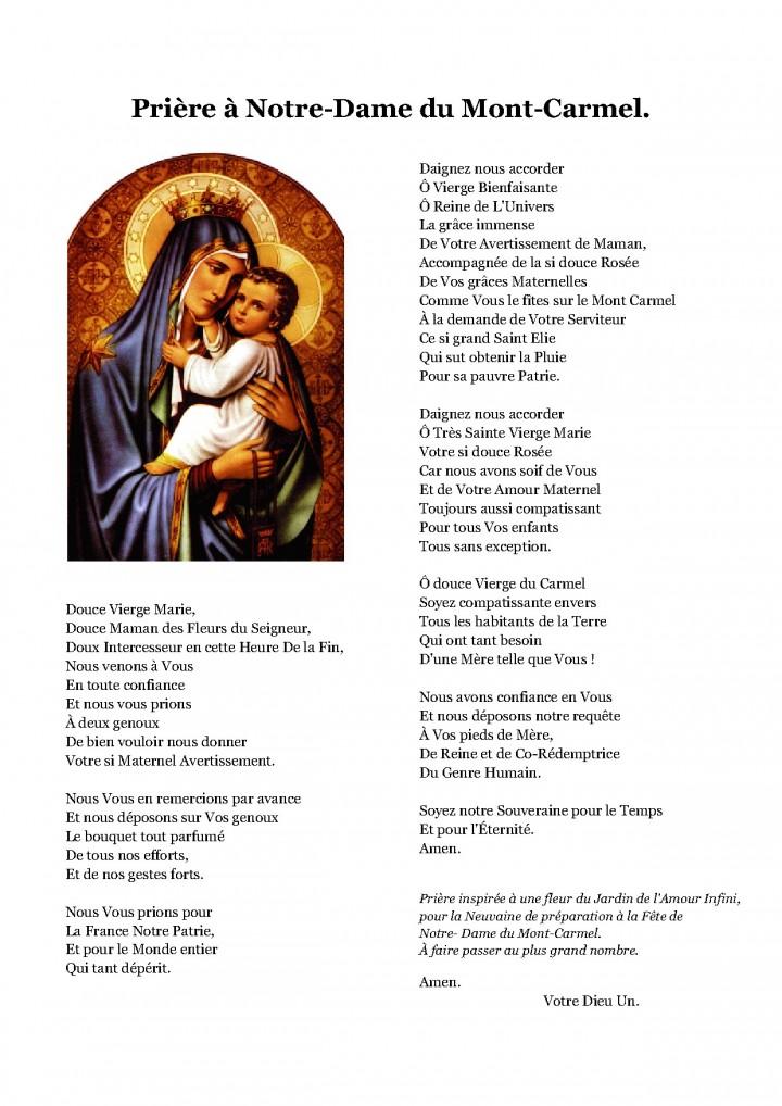 Notre Dame du Mont Carmel... priez pour nous ! Dame_d16