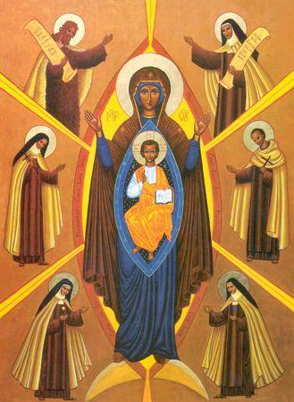 Notre Dame du Mont Carmel... priez pour nous ! Dame_d17