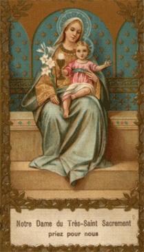 Adorer Jesus avec le Coeur de Marie Dame_d43
