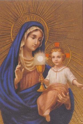 Adorer Jesus avec le Coeur de Marie Jesus111