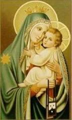 Adorer Jesus avec le Coeur de Marie Marie109