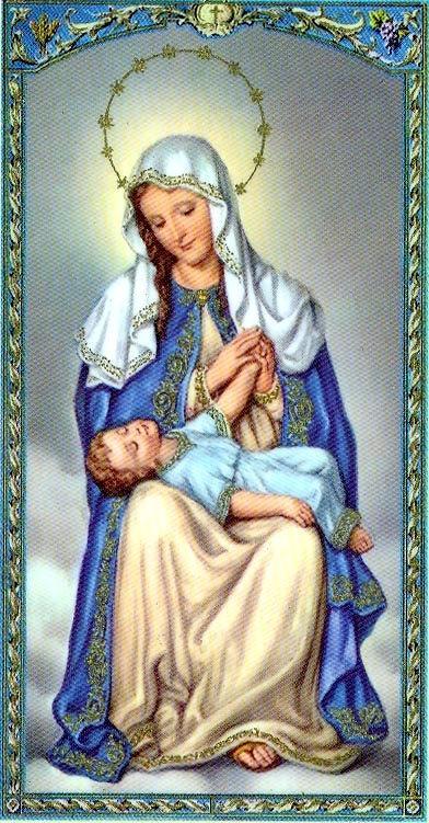 Prières pour les âmes du purgatoire en ce mois de Décembre - Page 2 Marie184