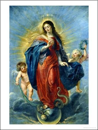 En ce mois de Marie prions pour les âmes du purgatoire - Page 2 Marie271