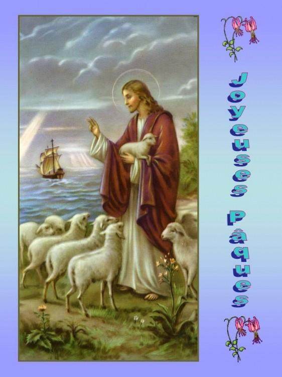 La joie de la Vierge pour la résurrection du Christ Paques11