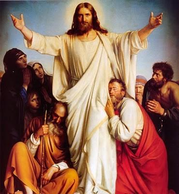 La joie de la Vierge pour la résurrection du Christ Resure13