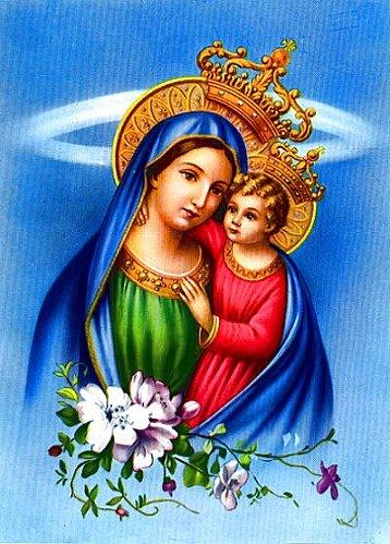 La joie de la Vierge pour la résurrection du Christ Vierge28