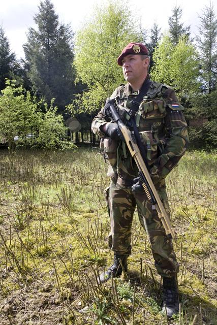 Les armes de l'armée Néerlandaise D0904213