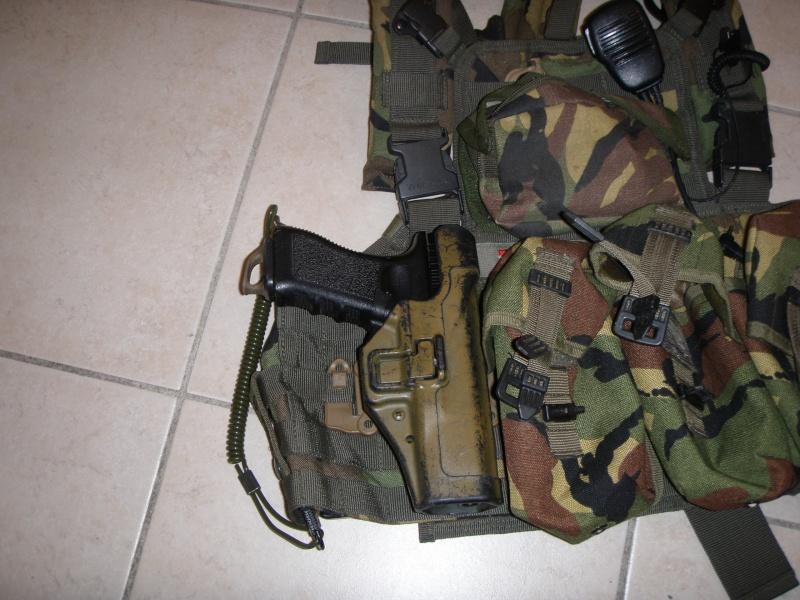 =Holster CQC Blackhawk + adaptateur Strike + QDS= P7213111