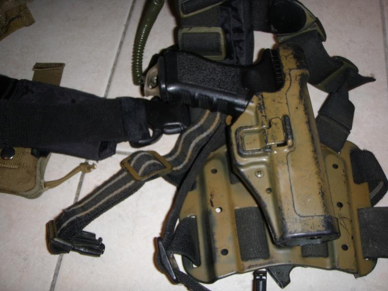 =Holster CQC Blackhawk + adaptateur Strike + QDS= P7213113
