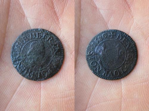 Denier tournois Henri III 1580/79 A  Henri_19
