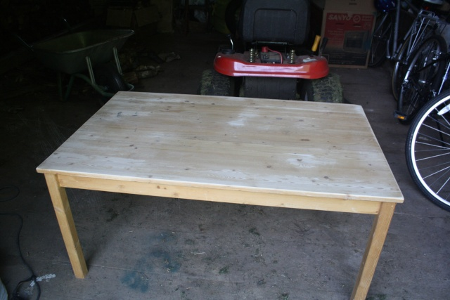 Custom Chalkboard coloured craft table Img_0910