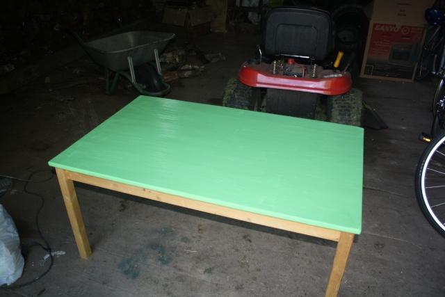 Custom Chalkboard coloured craft table Img_0911