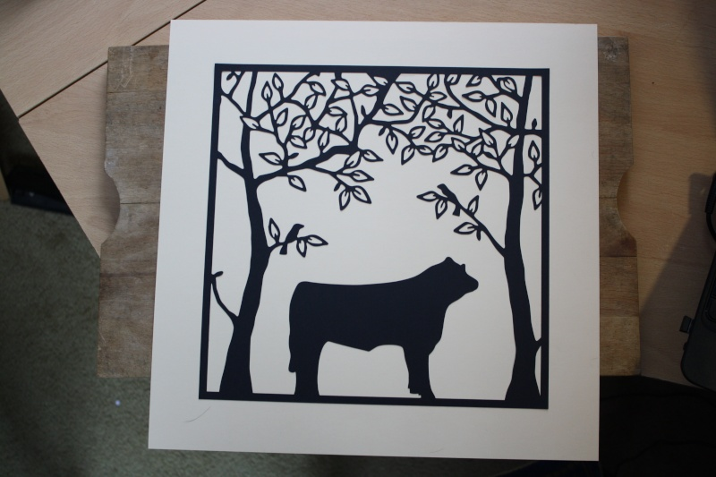 My newest papercut comission Img_6210