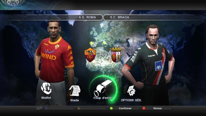 [ 1/4 de finale ] AS Rome - Braga Pes20877