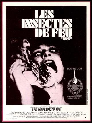 Cinéma les insectes de feu bug Science fiction insectes invasion Jeannot Szwarc Thomas Page tremblement de terre 1975 forum science fiction horreur