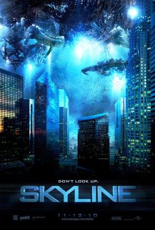 Cinéma Skyline Science fiction extraterrestres invasion extraterrestre 2010 lumière bleues forum science fiction