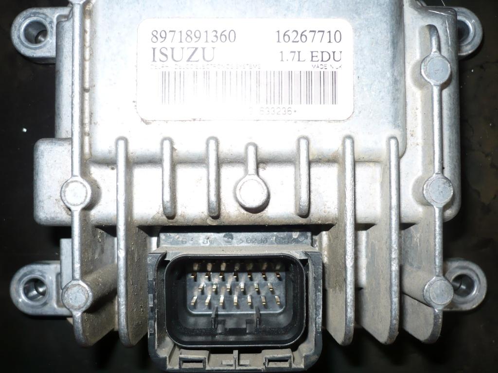 Tutorial depanare calculator de injectie Y17DT 011