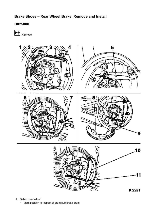Tutorial schimbare cilindru saboti frana spate Corsa C 112
