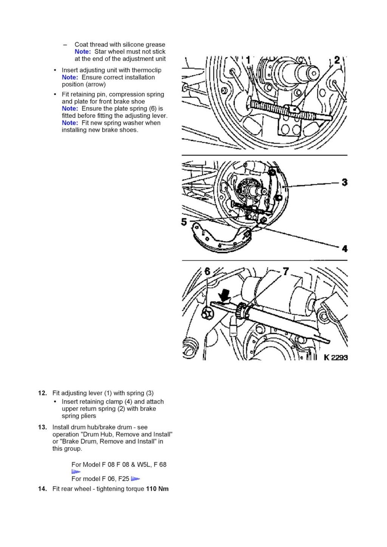 Tutorial schimbare cilindru saboti frana spate Corsa C 312
