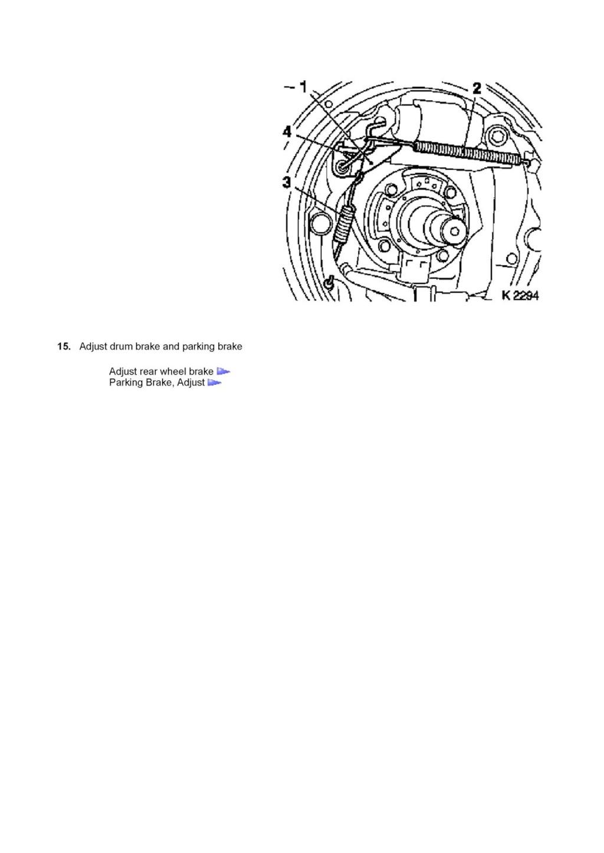 Tutorial schimbare cilindru saboti frana spate Corsa C 410